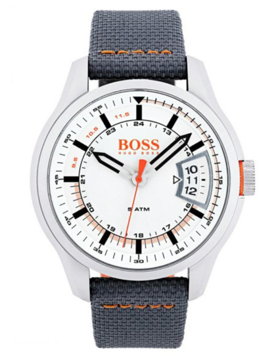 96ef6011cea3 Hugo Boss Orange Hong Kong 1550015 Reloj para Caballero Color Gris