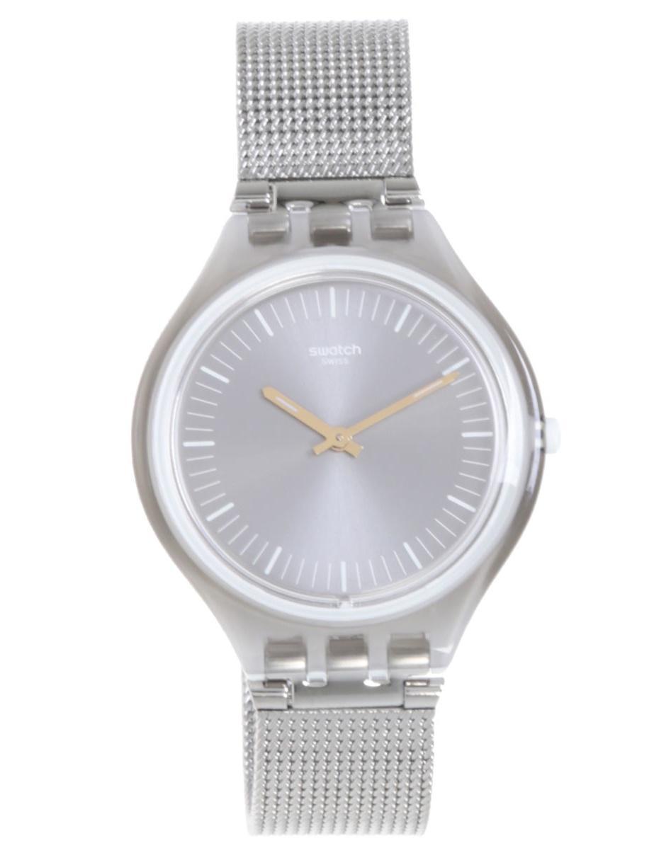 Dama Svom100m Reloj Para Swatch Skinmesh 3j45ALqRSc