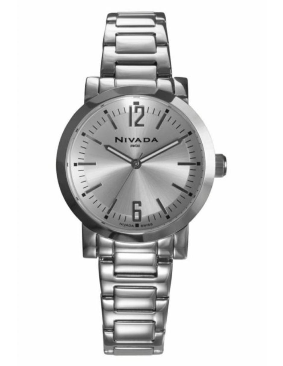 e7d2079e0c46 Reloj para dama Nivada Executive NP16052LACPR acero
