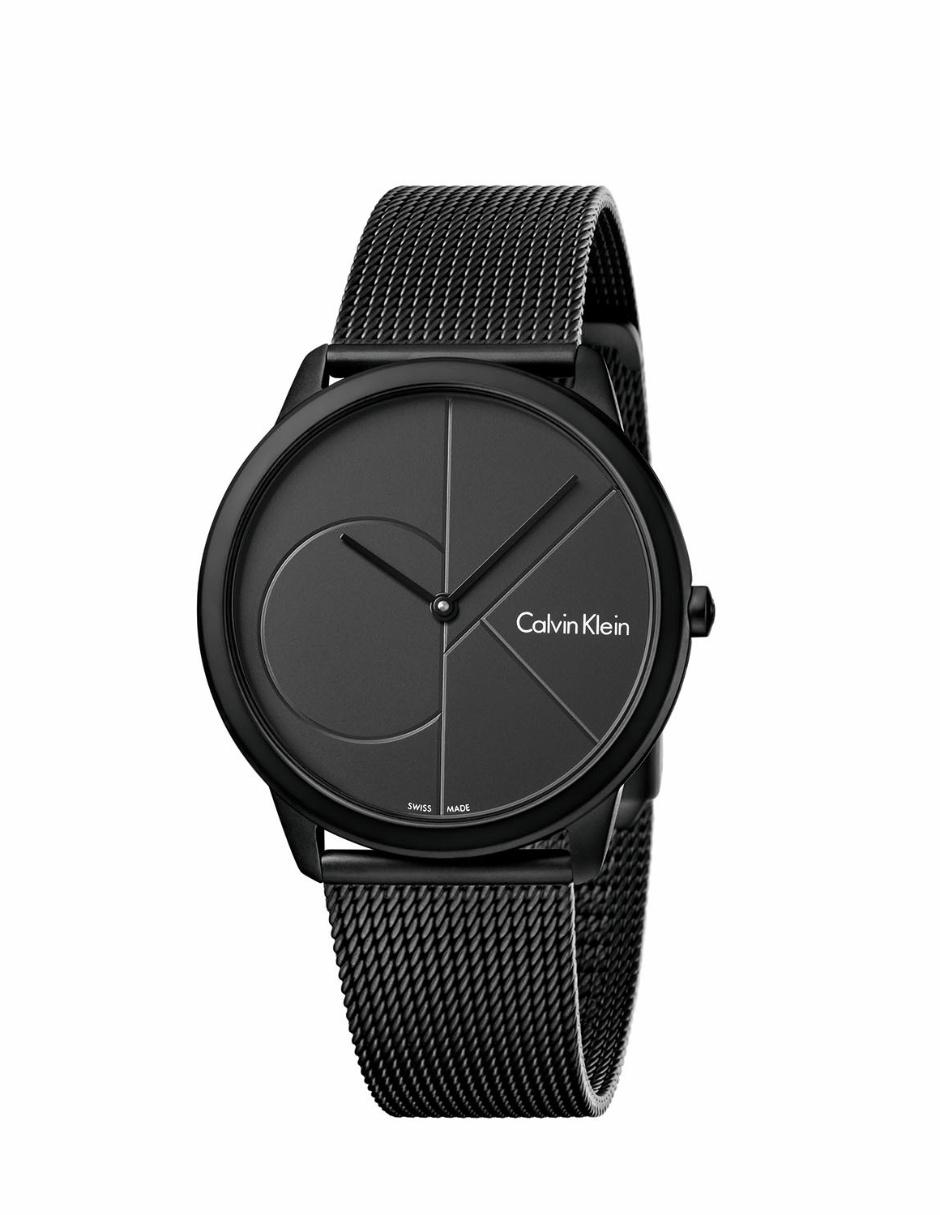 f55e1ab48661 Reloj unisex Calvin Klein Minimal K3M514B1 negro