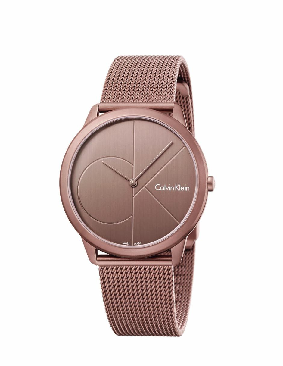 Reloj para dama Calvin Klein Minimal K3M11TFK oro rosa  27e349329f88