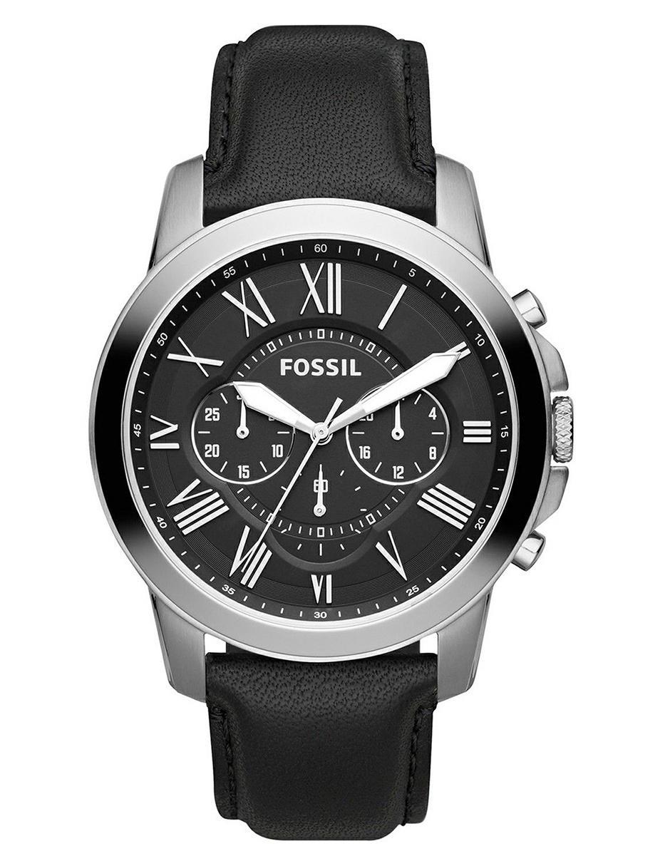 bcf74e2d7546 Reloj para caballero Fossil Grant FS4812IE negro
