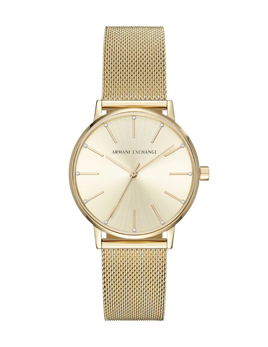 c30f4e9175e4 Reloj para dama A X AX5536 dorado