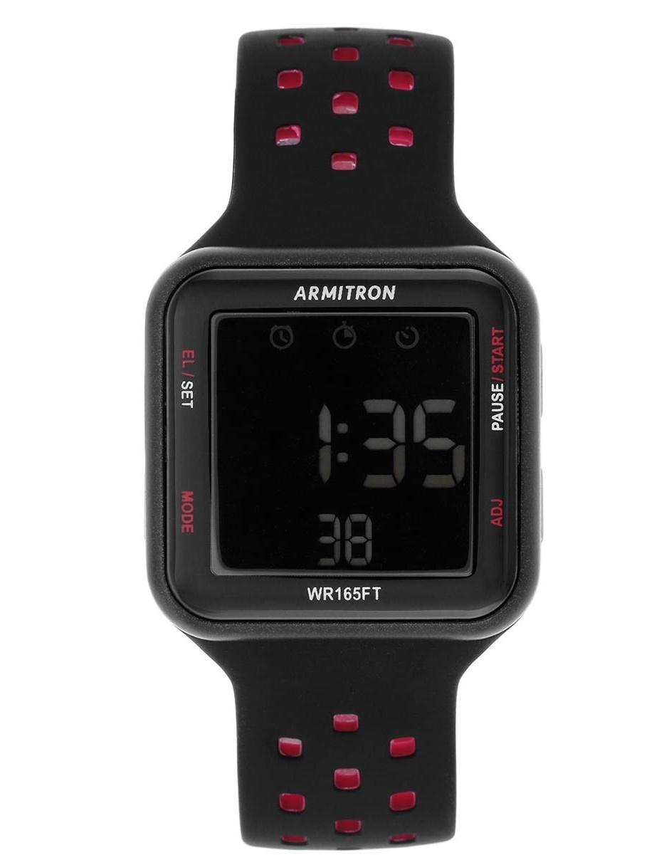 8d116c21fce2 Reloj para caballero Armitron Pro Sport 408417BRD negro