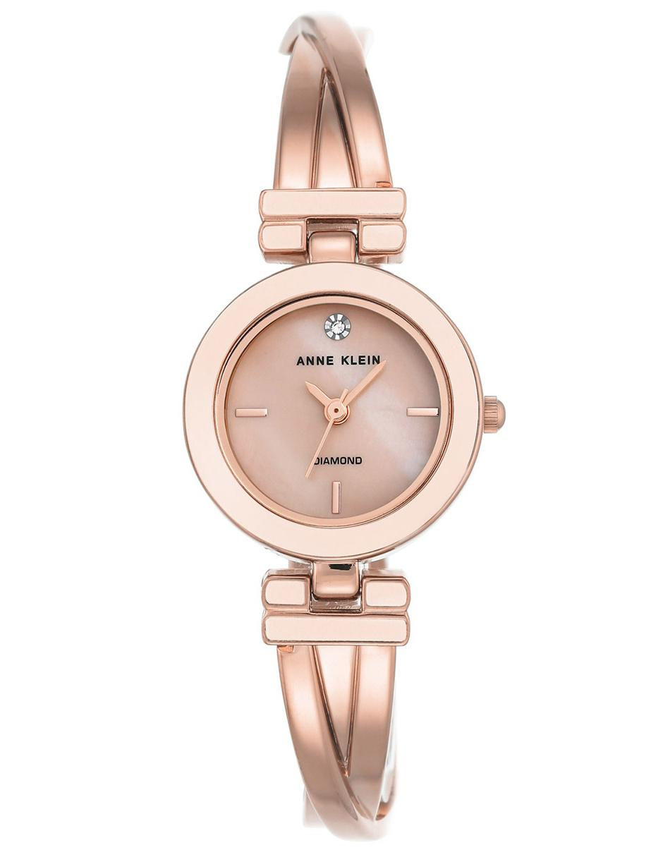 f58a2e5eb4f1 Reloj para dama Anne Klein Rose Gold Collection AK2622LPRG rosa