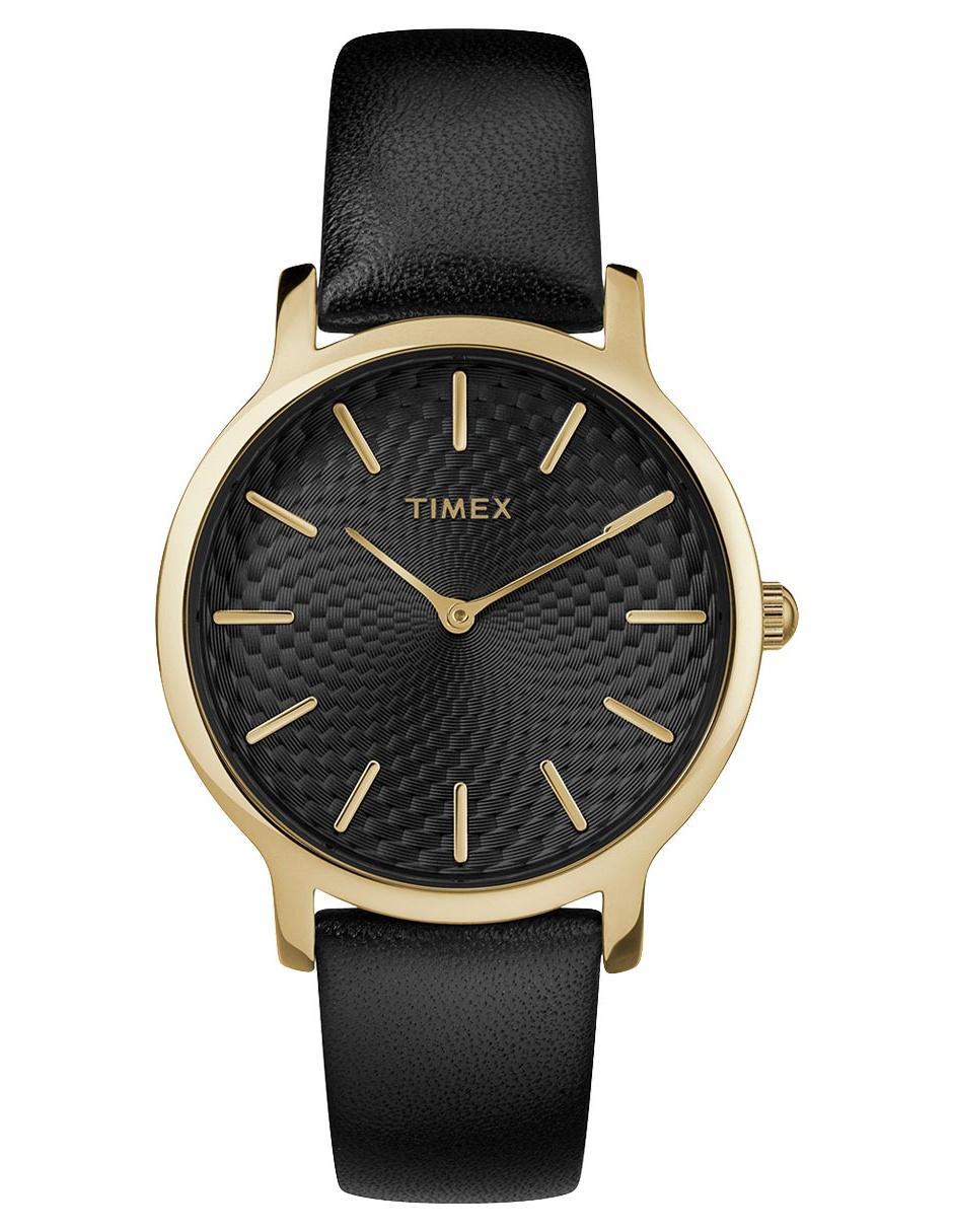 a957fd3ccd05 Reloj para dama Timex Metropolitan TW2R36400 negro