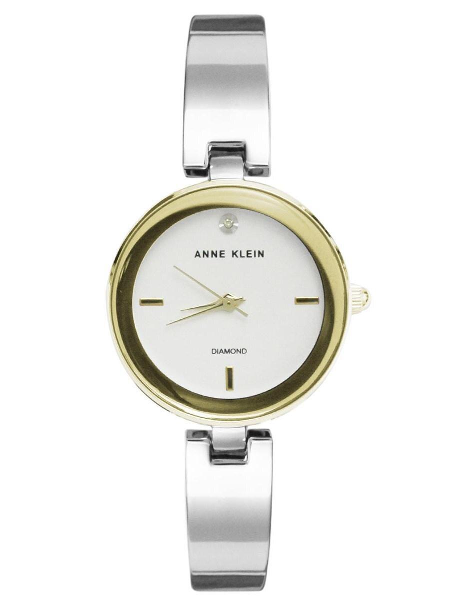 7629f7cb1 Reloj para dama Anne Klein Metal AK2493SVTT