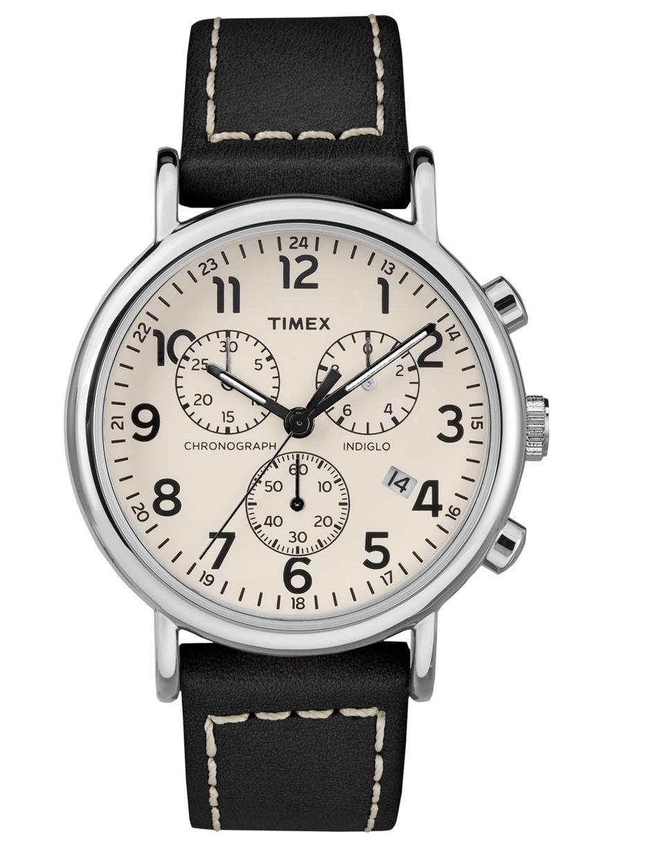 f2bfa5bb7435 Reloj para caballero Timex Weekender TW2R42800 negro