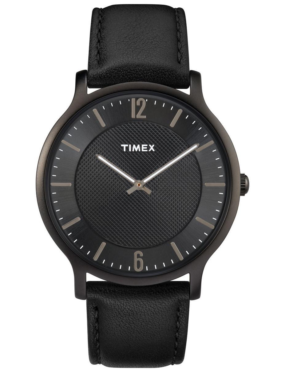 28fcd3901687 Reloj para caballero Timex Metropolitan TW2R50100 negro