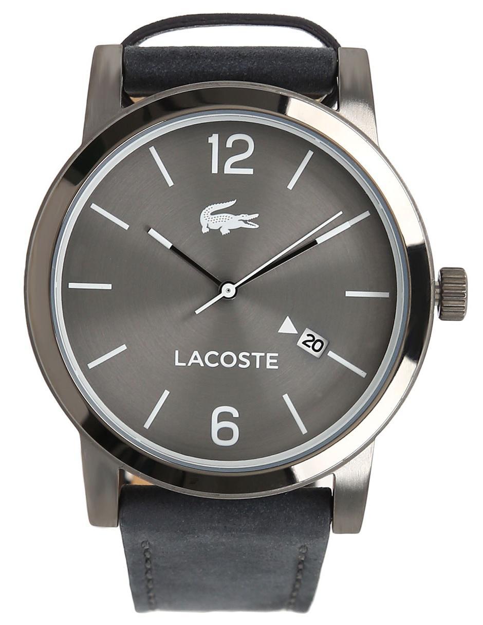 09a578053e5d Reloj para caballero Lacoste Men s Metro 2010926 gris obscuro
