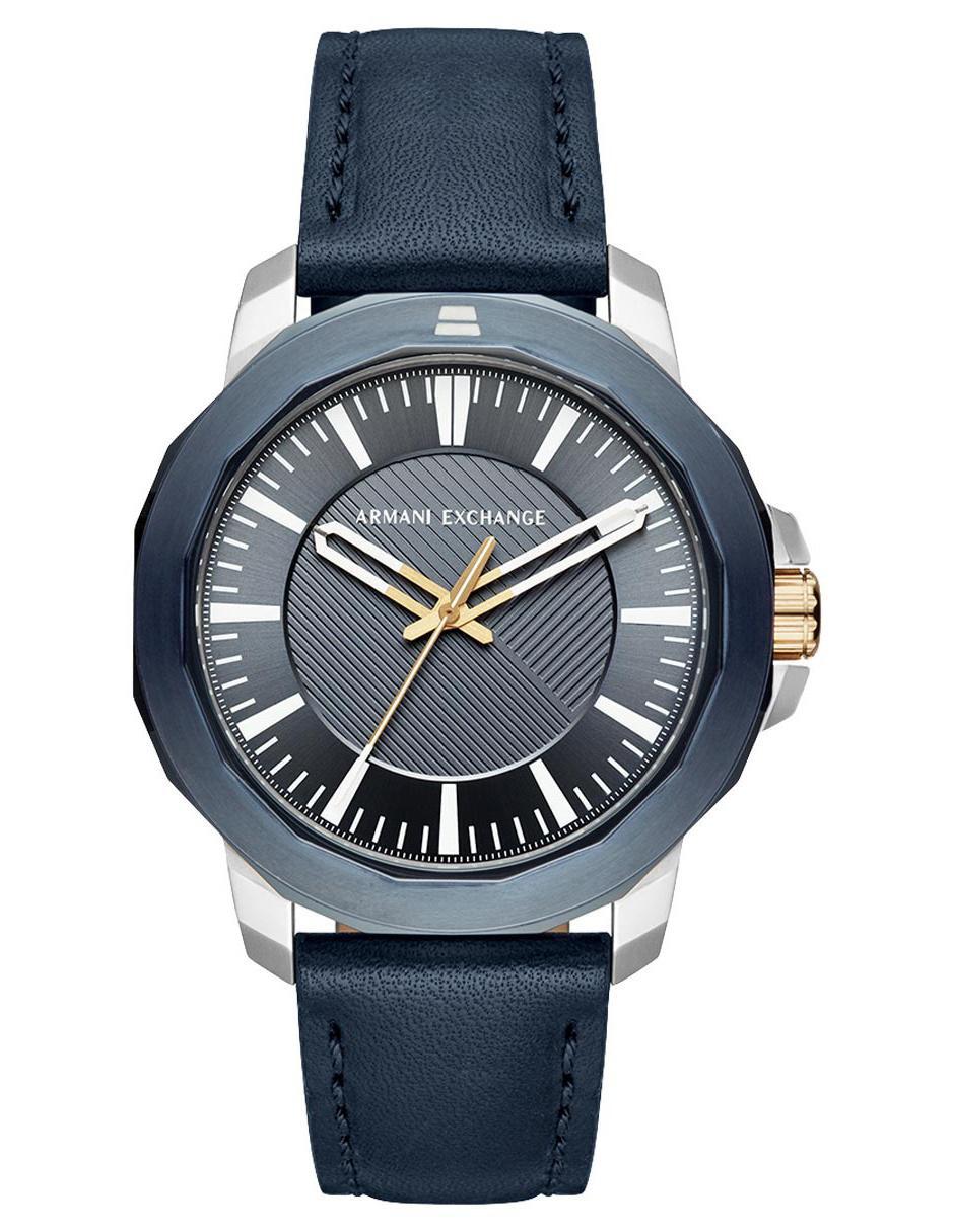 43e764c3bfb9 Reloj para caballero A X AX1905 azul marino
