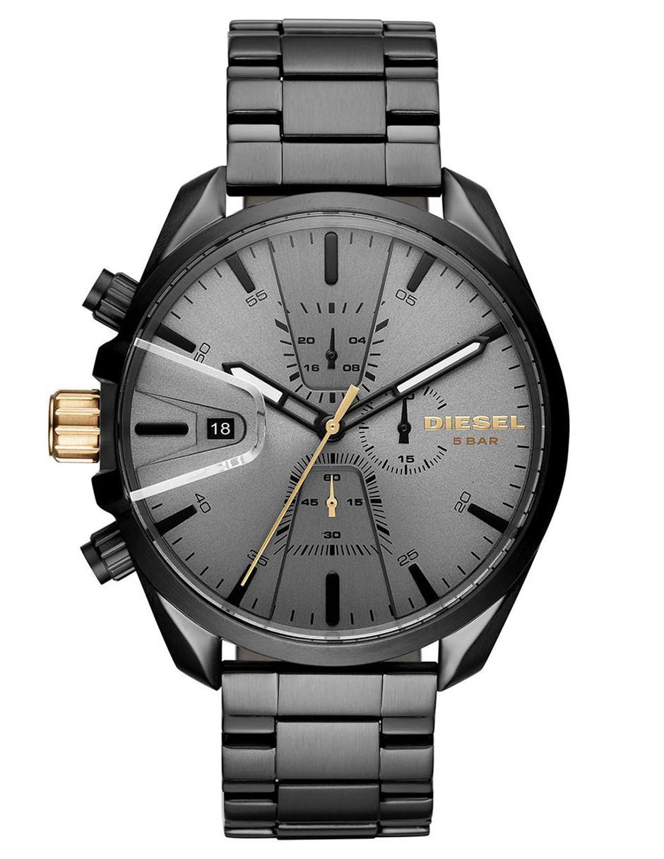 1a5c00a74cae Reloj para caballero Diesel Ms9 Chrono DZ4474 grafito