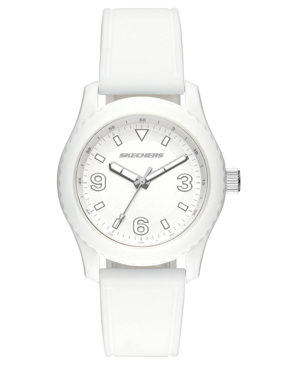 f1af3c40dd1d Reloj para dama Skechers The Monterrey SR6147 blanco