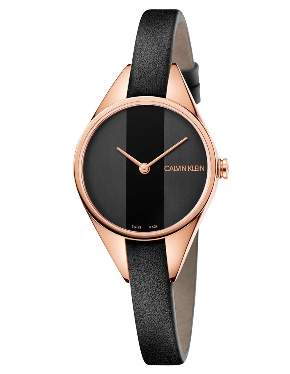 8cf487fe263a Reloj para dama Calvin Klein Rebel K8P236C1 negro
