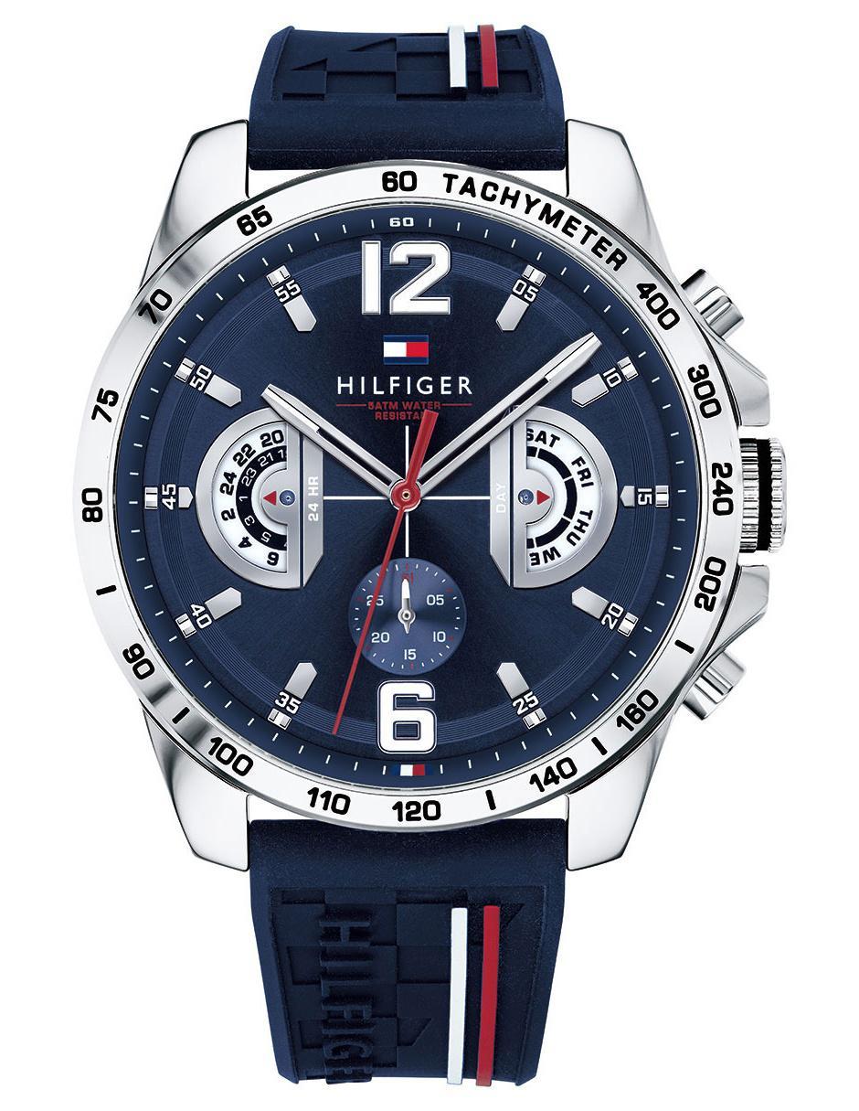 3e5d29e0d679 Reloj para caballero Tommy Hilfiger 1791476 azul marino Precio ...
