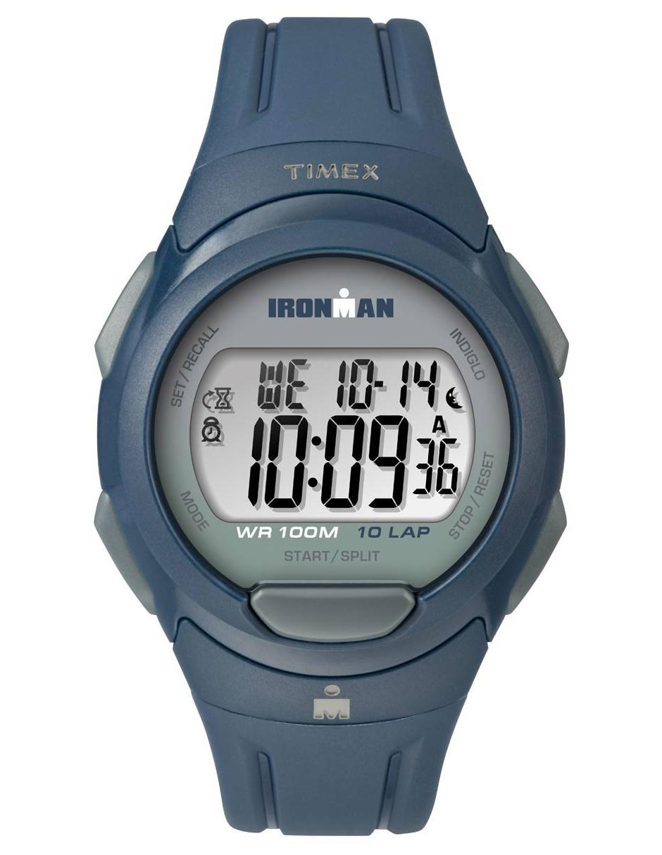 13825593d3f8 Reloj unisex Timex Ironman TW5M16500 azul marino