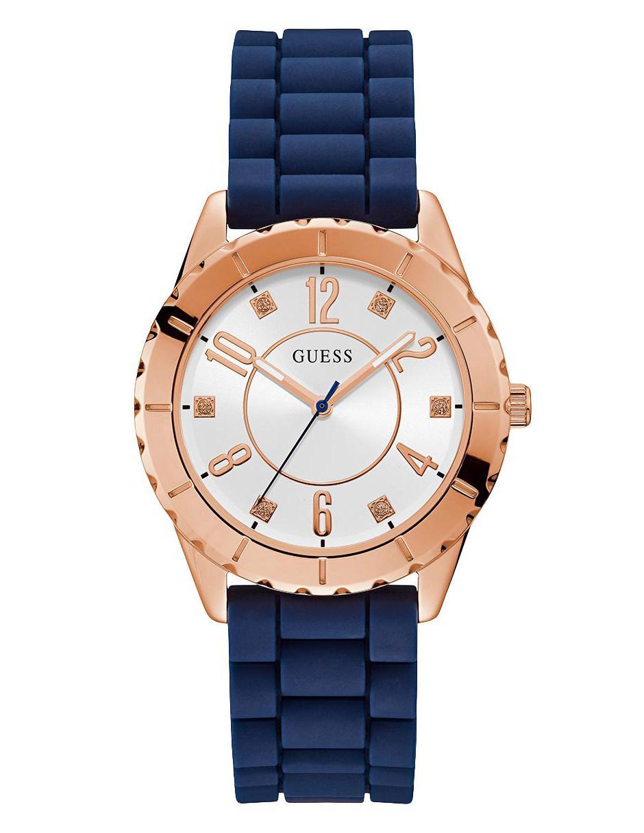 87aa11c60bdb Reloj para dama Guess Cabana azul marino