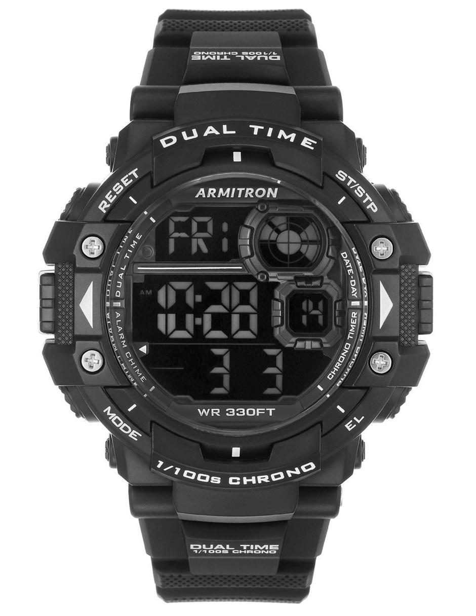 569b4c62592c Reloj para caballero Armitron Pro Sport 408309BLK negro