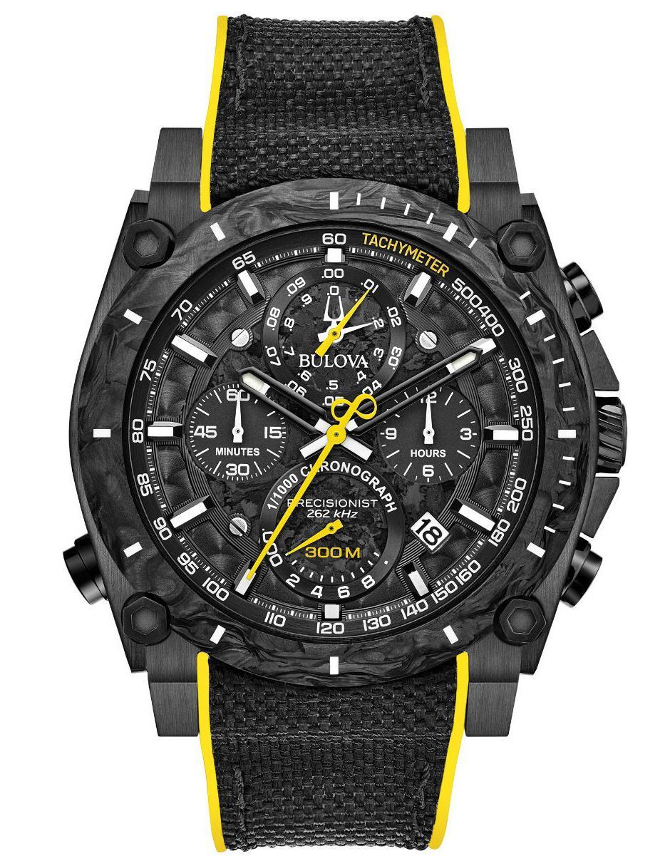 7ef9fd2a6e3f Reloj para caballero Bulova Precisionist 98B312 negro