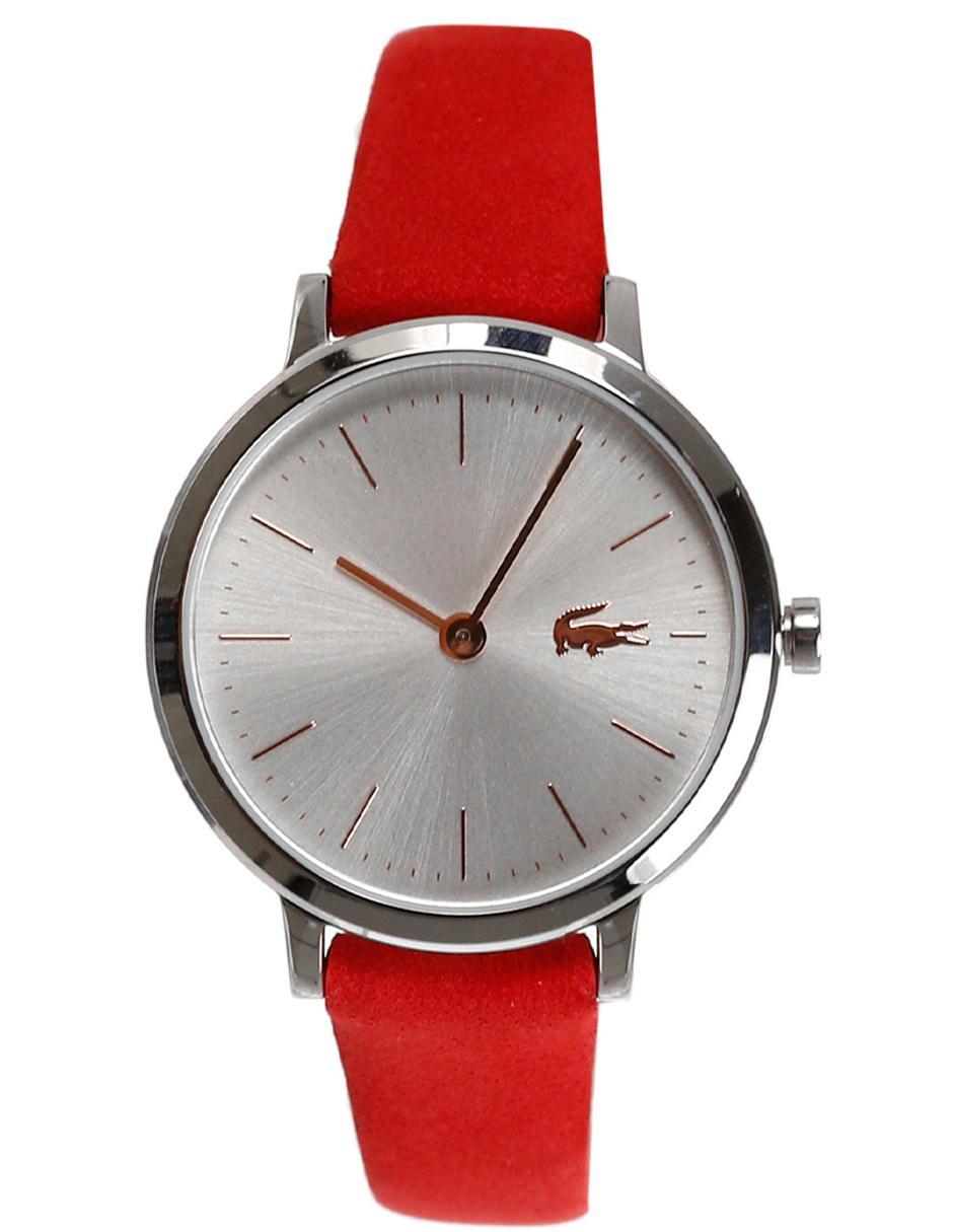 2f776662880c Reloj para dama Lacoste 2001048 rojo claro