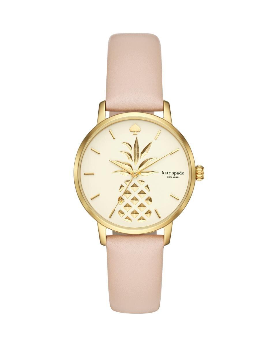 683253a0c Reloj para dama Kate Spade Metro KSW1443 nude