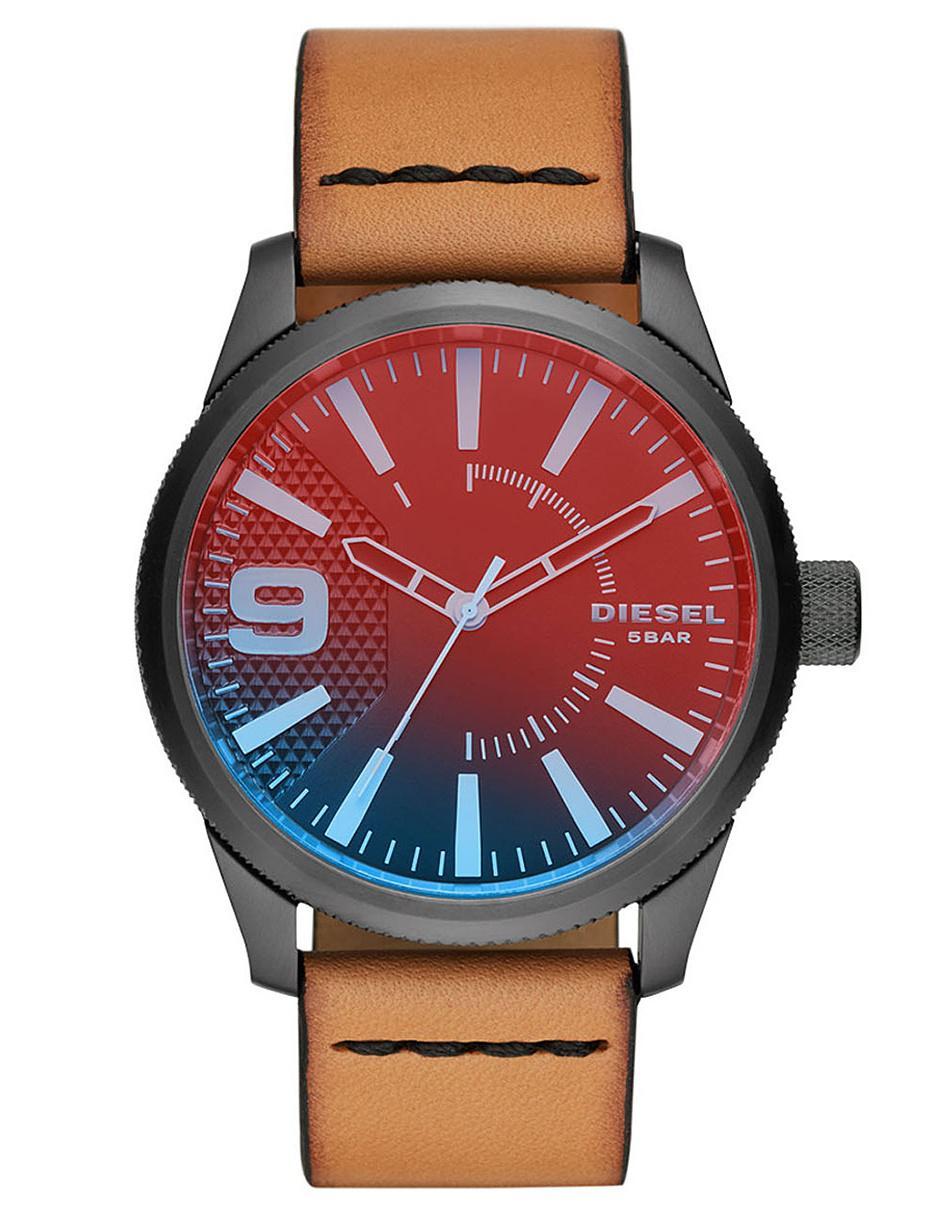 c847bbd1234e Reloj para caballero Diesel Rasp Nsbb DZ1860 café