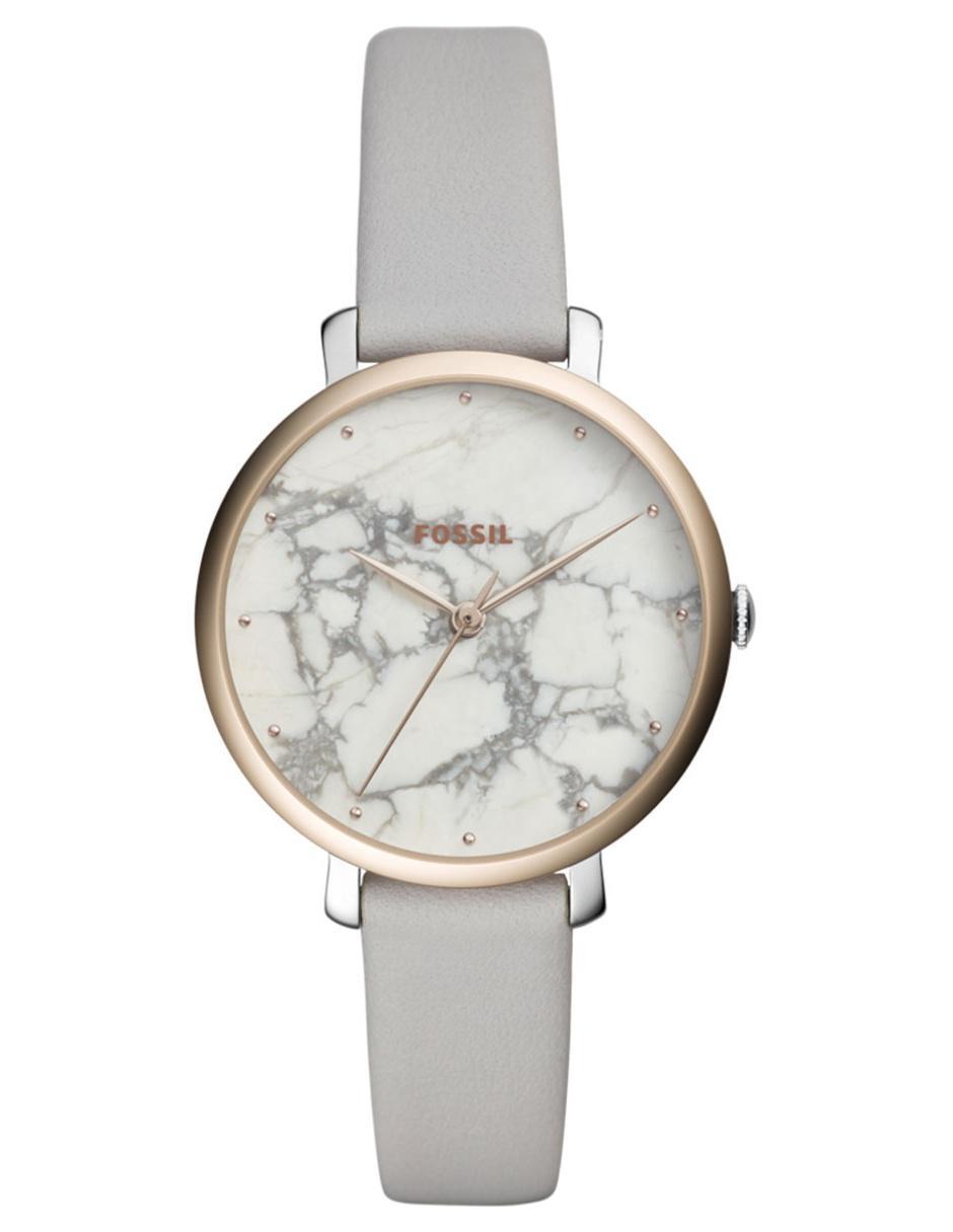 d962392385f5 Reloj para dama Fossil Jacqueline ES4377 gris