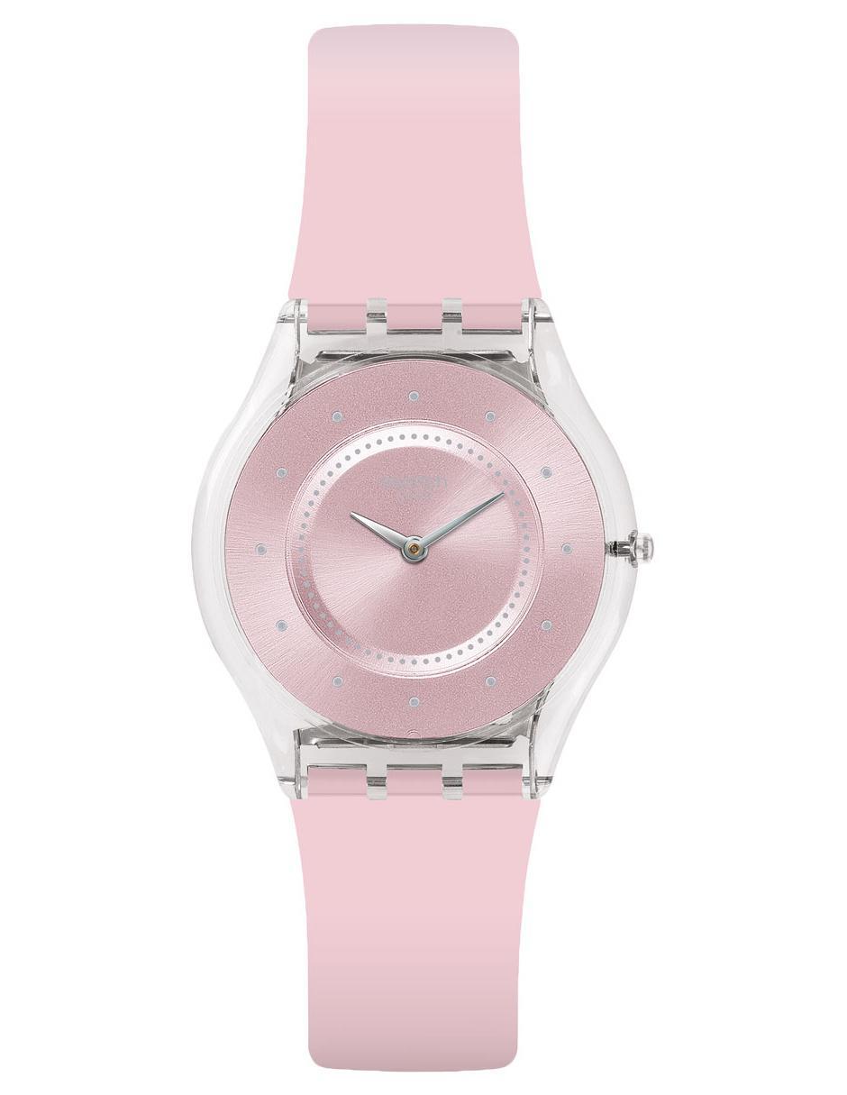 Pastel Reloj Pink Claro Dama Skin Classic Rosa Para Sfe111 Swatch shdxQCrt