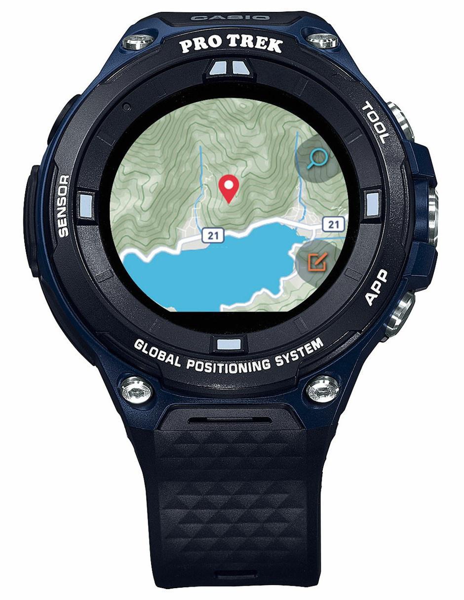 Buaau Wsd Azul Caballero Casio Smartwatch Protrek Para F20a Marino A5j3RLq4