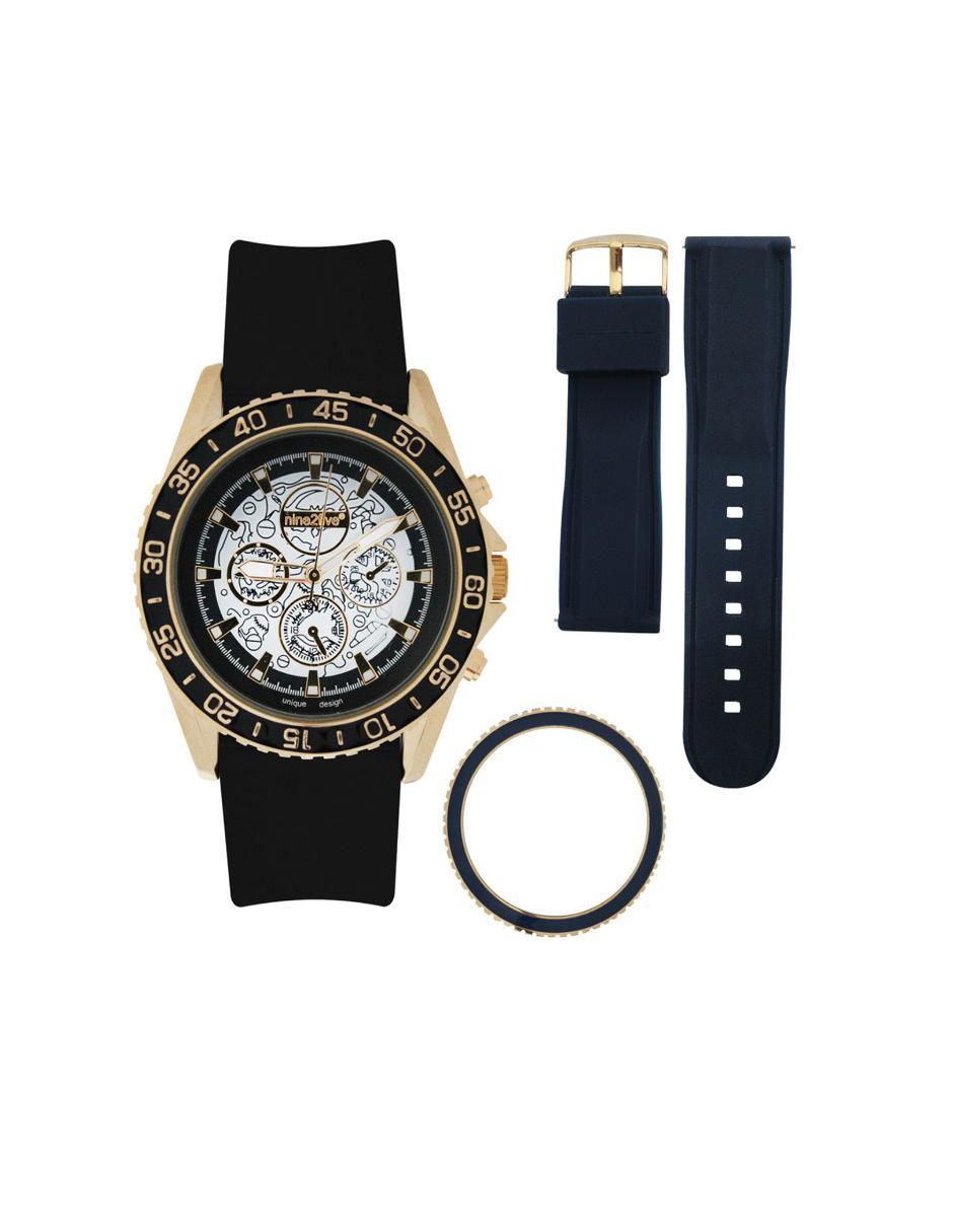 e3e8d1aee47b Reloj para caballero Nine2Five Lévis ALVS13NGNG negro