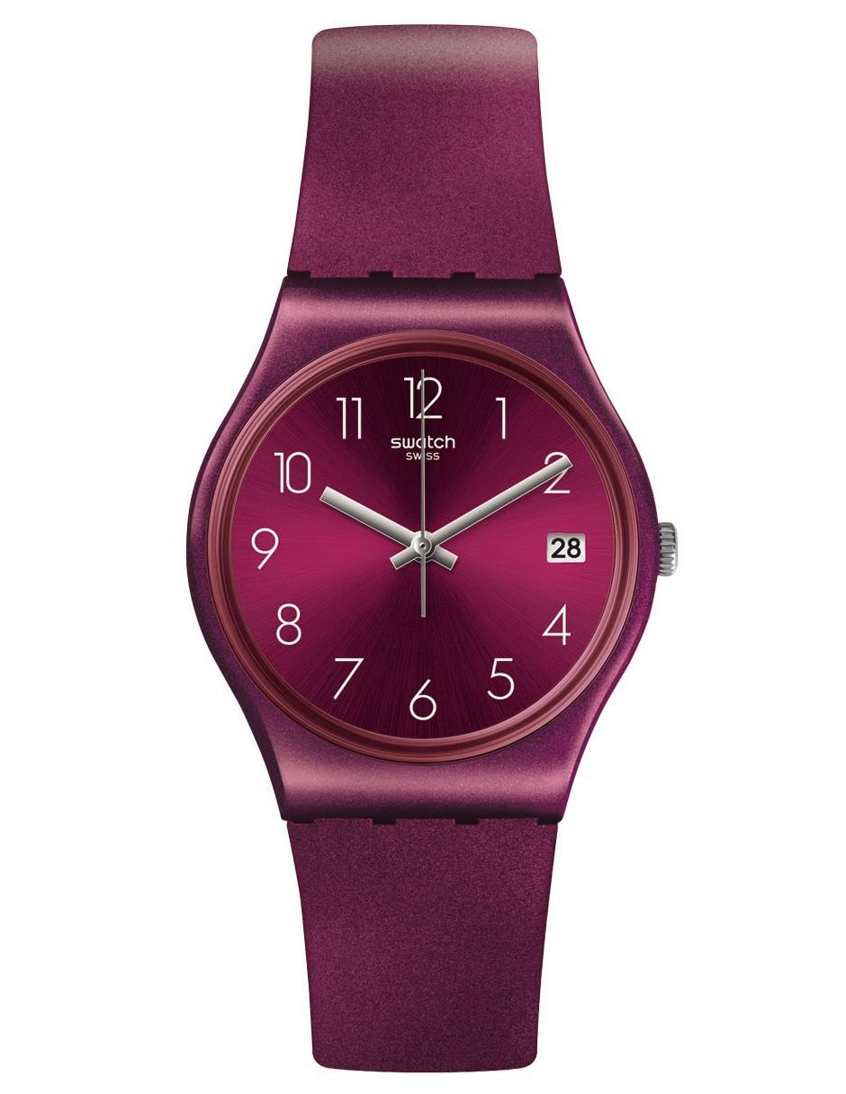 3deefd9bfa1e Reloj para dama Swatch Redbaya GR405 bugambilia