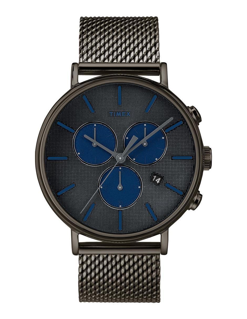 84563da63a53 Reloj para caballero Timex Fairfield Supernova TW2R98000 gris