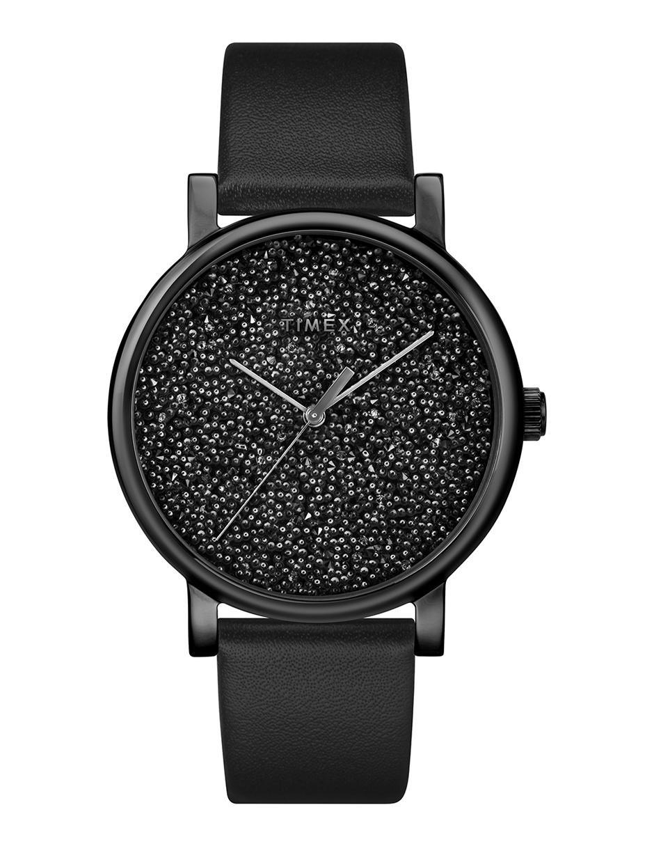 c327919ad012 Reloj para dama Timex Opulence Tw2r95100 negro