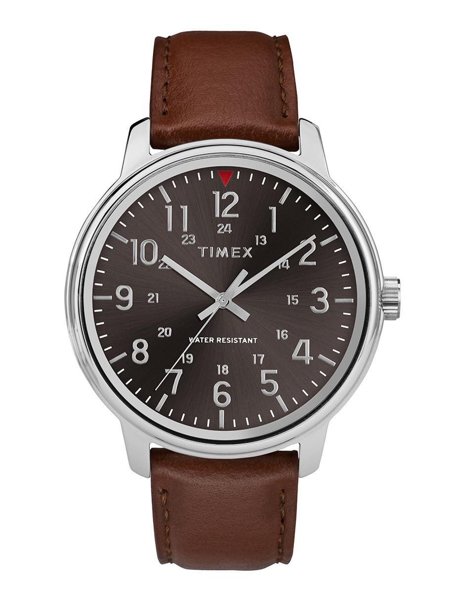 1d139e360369 Reloj para caballero Timex Core Tw2r85700 café