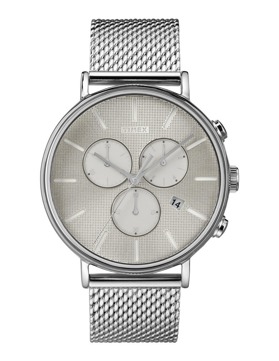59c2bf99efd5 Reloj para caballero Timex Fairfield Supernova Tw2r97900 gris