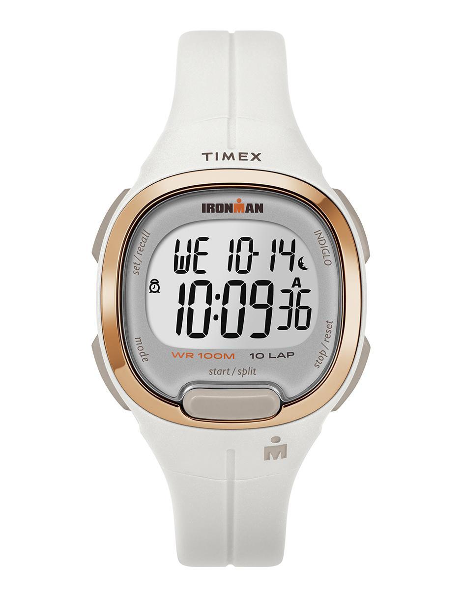 0e9aa1d19770 Reloj unisex Timex Ironman Tw5m19900 blanco