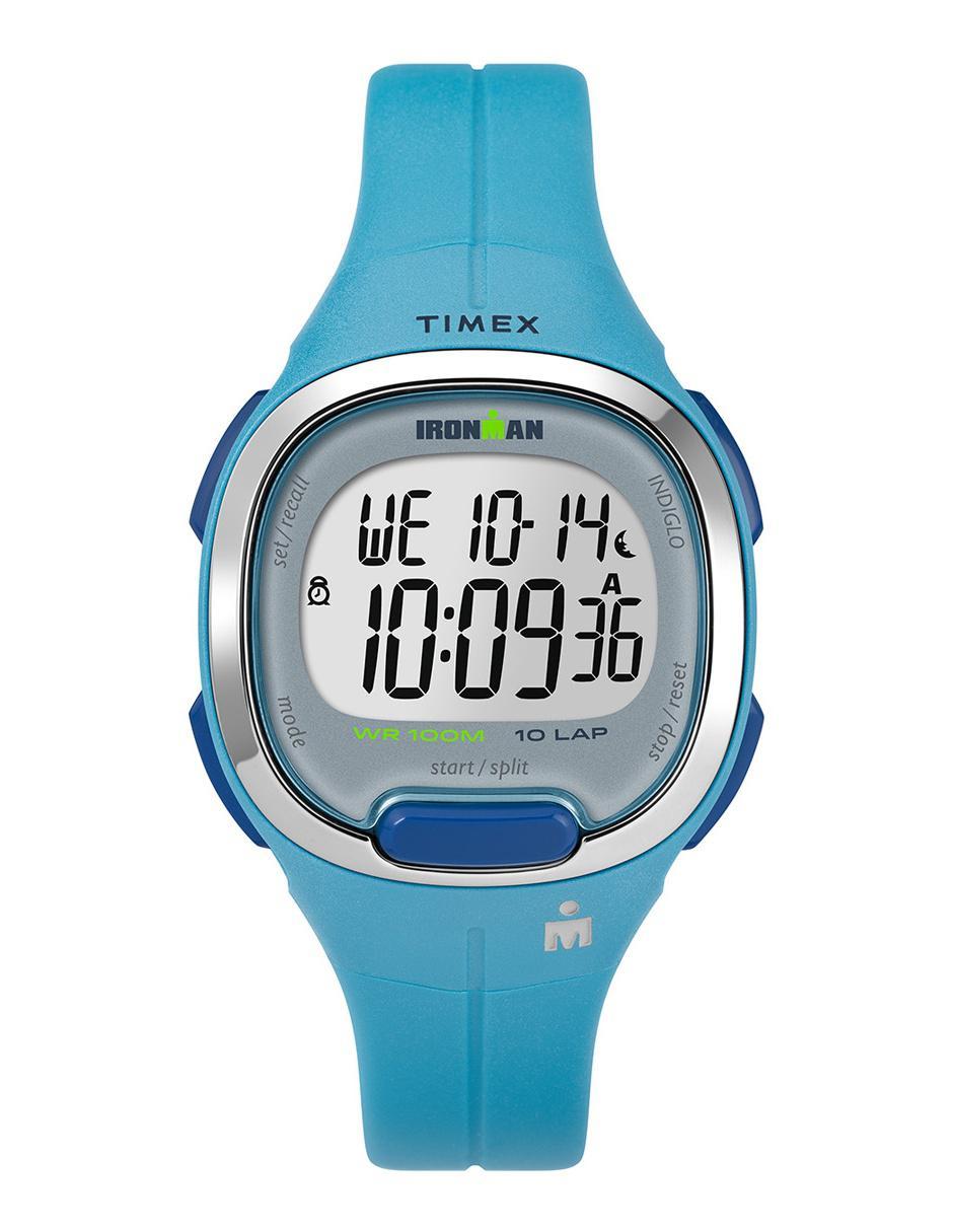 2784de7e4b90 Reloj para caballero Timex Ironman TW5M19500 azul
