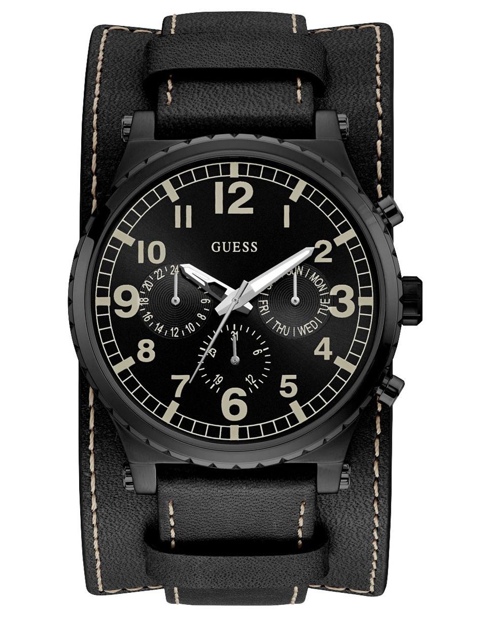 9e6220f191e8 Reloj para caballero Guess Arrow W1162G2 negro