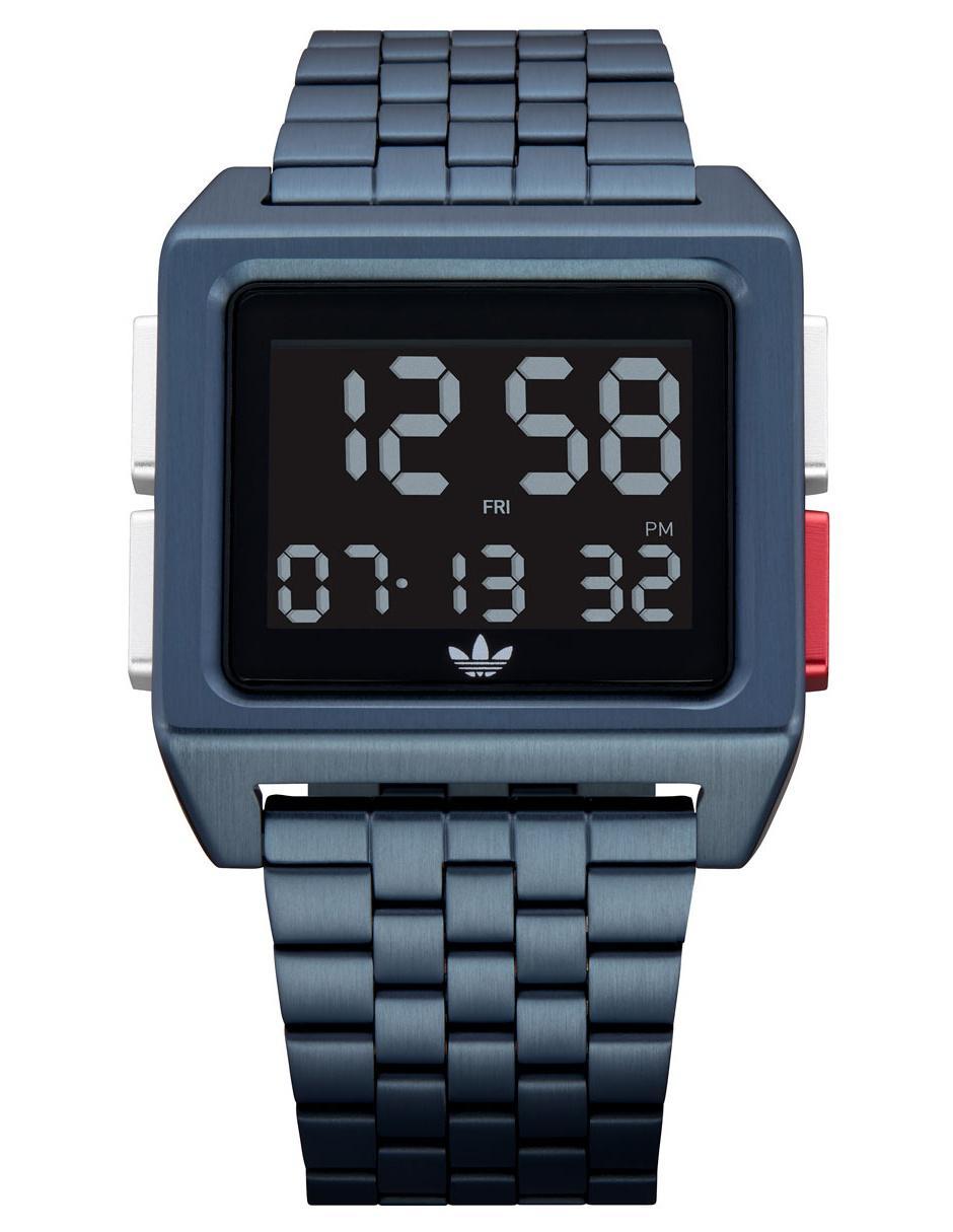 13132e155d1a Reloj unisex Adidas Archive M1 Z01-3041 azul marino Precio Sugerido
