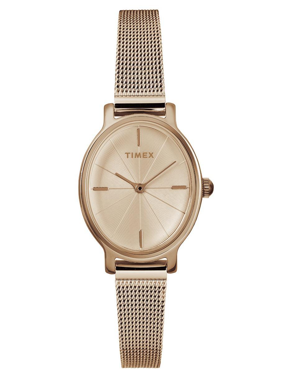 b52df0ea9826 Reloj para dama Timex Milano TW2R94400 dorado