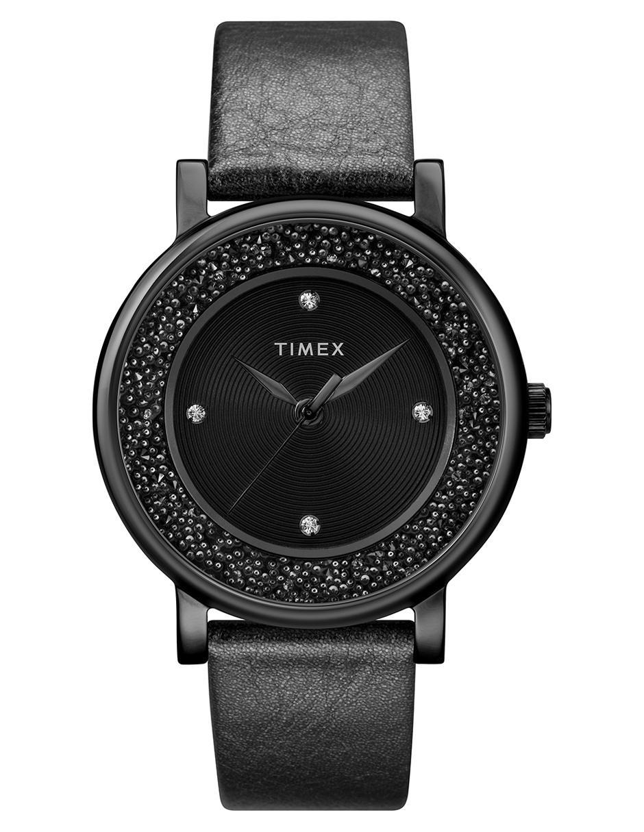 144691ed5d48 Reloj para dama Timex Opulence TW2R93000 negro