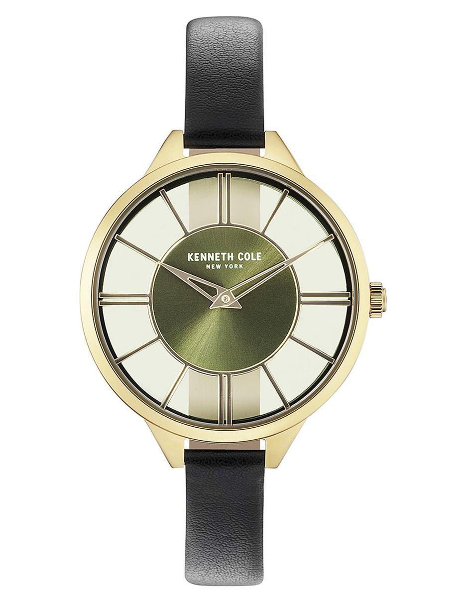 e2b53f89844d Reloj para dama Kenneth Cole Transparency KC50538007 negro