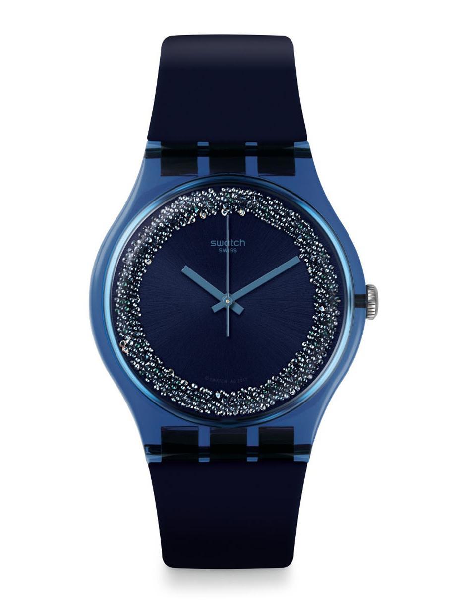dcafd4cc6b56 Reloj para dama Swatch Originals Suon134 azul