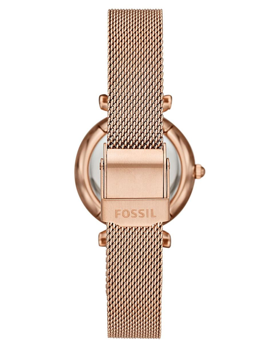 8dfe89aa8189 COMPARTE ESTE ARTÍCULO POR EMAIL. Box set de reloj para dama Fossil Carlie  ES4443SET