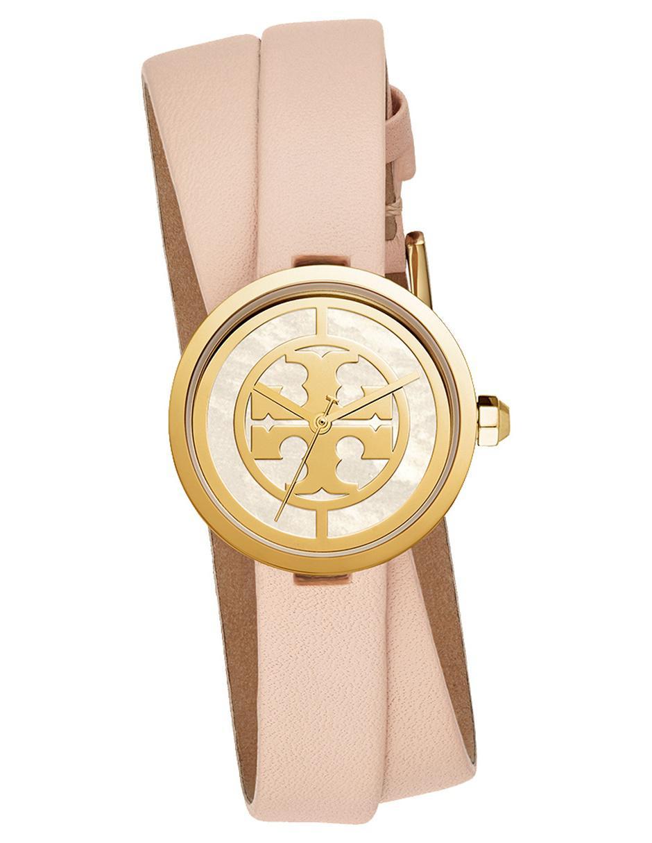 7e8570bf4952 Reloj para dama Tory Burch The Reva TBW4030 nude