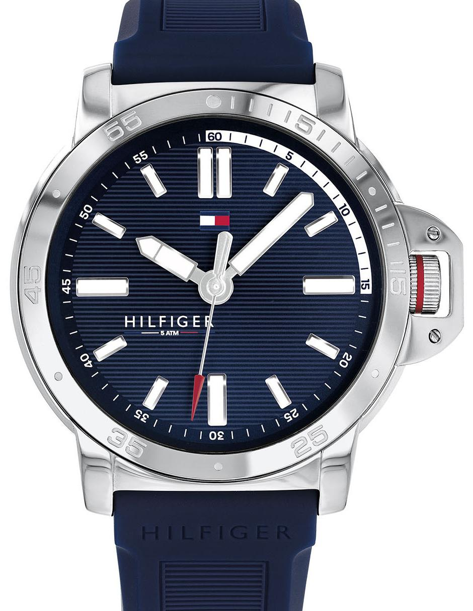 d4be236f0bd8 Reloj para caballero Tommy Hilfiger Men s Diver azul marino ...