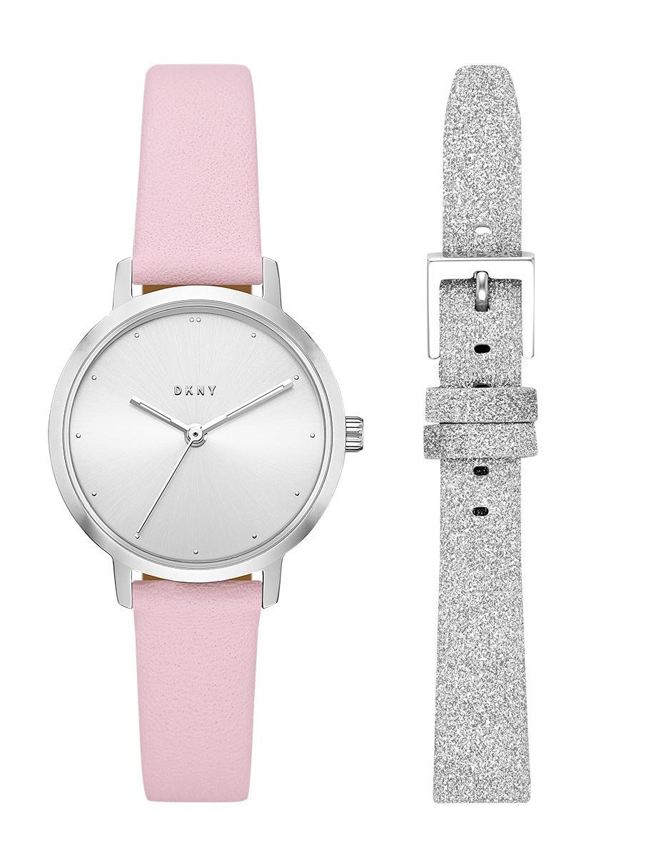 b401f61de054 Reloj para dama DKNY The Modernist NY2777 rosa