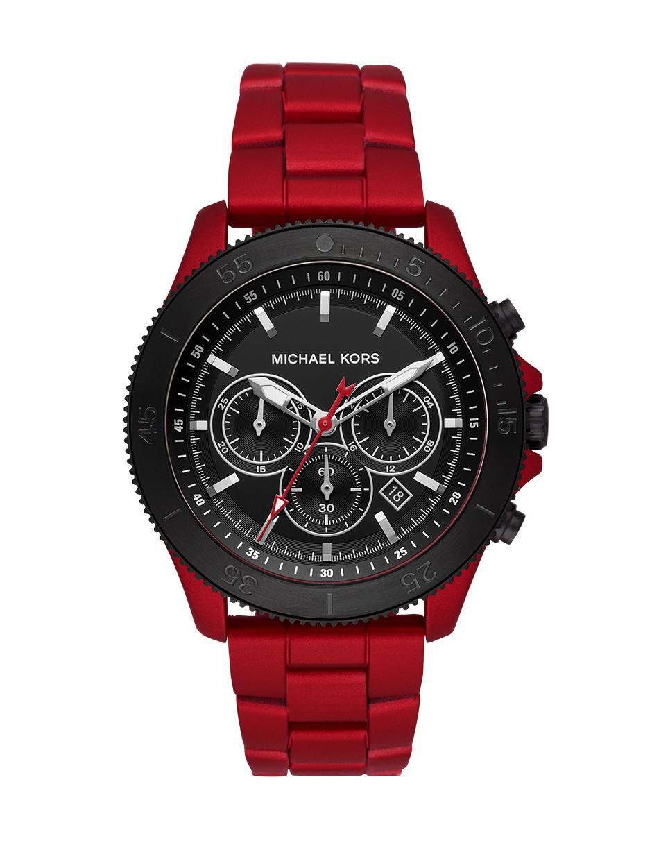 Kors Mk8680 Para Reloj Michael Rojo Caballero Theroux lF13TuKJc