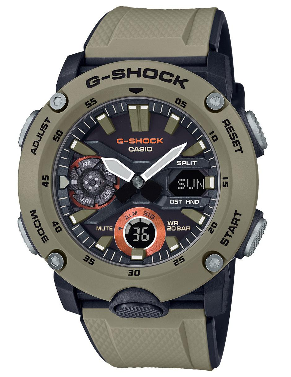 Caballero 5acr 2000 Para Casio Reloj Ga Café G Shock uKJ51lFc3T