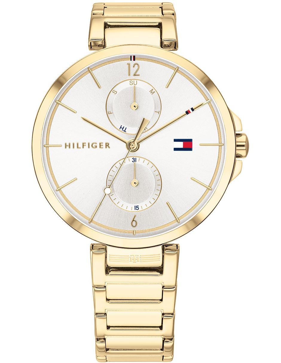 recoger Chispa  chispear Llanura  Reloj para mujer Tommy Hilfiger 1782128 dorado en Liverpool